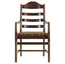 Artisan-Ladderback Arm Chair