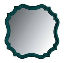 Coastal Living Retreat-Piecrust Mirror