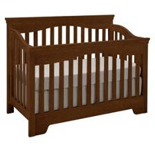Built To Grow Debut Crib -Cherry-Antique